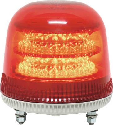 NIKKEI ニコモア VL17R型 LED回転灯 170パイ 赤 VL17M200AR【S1】