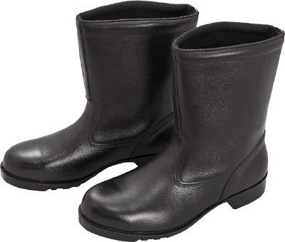ミドリ安全 ゴム底安全靴 半長靴 V2400N 25.0CM V2400N25.0