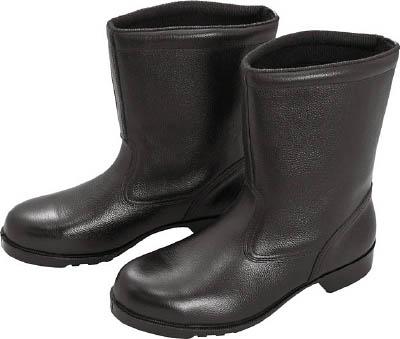 ミドリ安全 ゴム底安全靴 半長靴 V2400N 26.0CM V2400N26.0