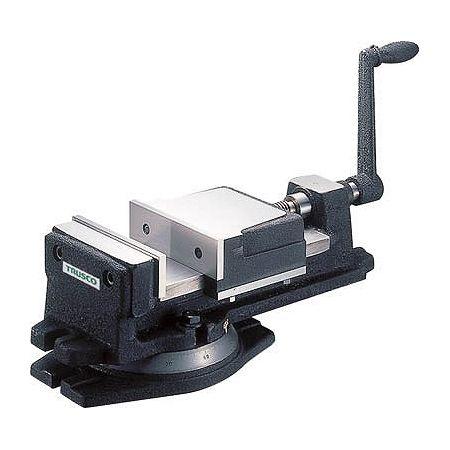 魅力的な TRUSCO 回転台付き KV200:リコメン堂ホームライフ館 200mm K型ミーリングバイス-DIY・工具