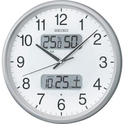 SEIKO 電波掛時計 P枠 KX383S【送料無料】