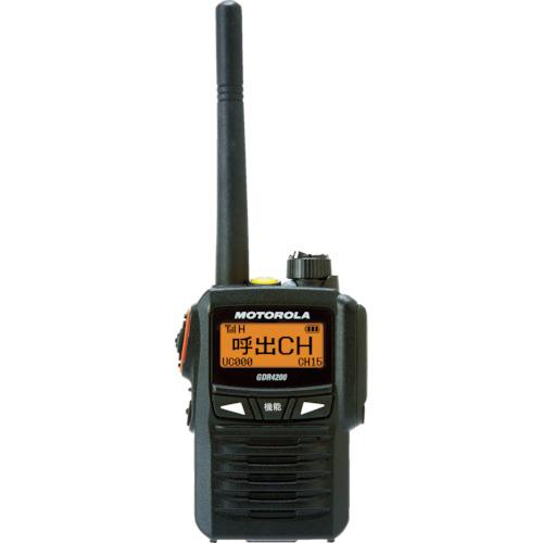 モトローラ デジタル簡易無線機 GDR4200【送料無料】【S1】