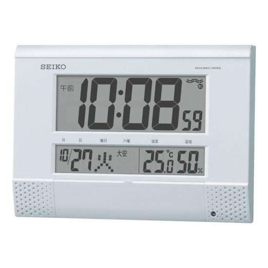 SEIKO プログラムチャイム付き電波時計 SQ435W【送料無料】【S1】