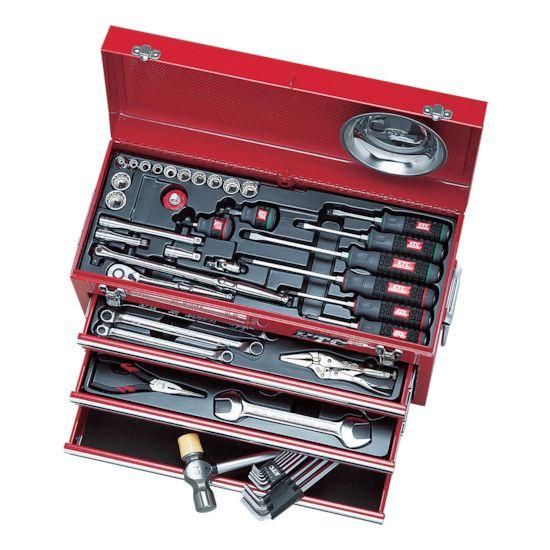 【メーカー包装済】 KTC SK3540BX【送料無料】:リコメン堂ホームライフ館 工具セット(チェストタイプ)インチ-DIY・工具