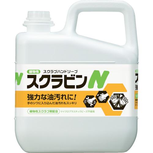 サラヤ 植物性スクラブハンドソープ スクラビンN 5kg 23155【送料無料】