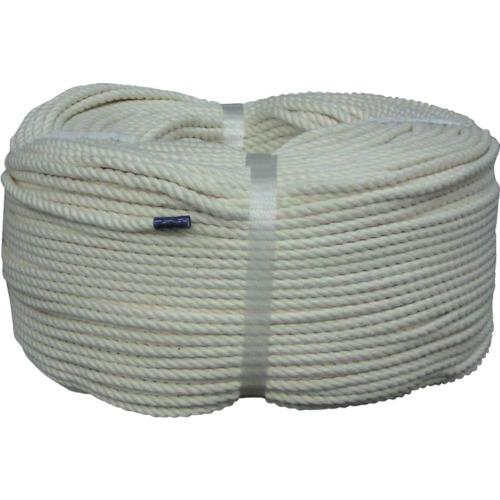 ユタカ ロープ 綿ロープ巻物 5φ×200m C5200【送料無料】