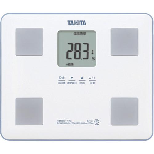 TANITA 体組成計 BC-722-WH BC722WH【送料無料】