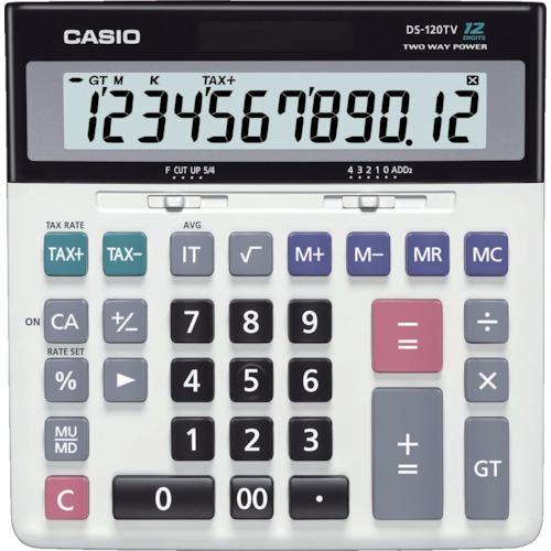 カシオ 加算器実務電卓 DS120TW【送料無料】