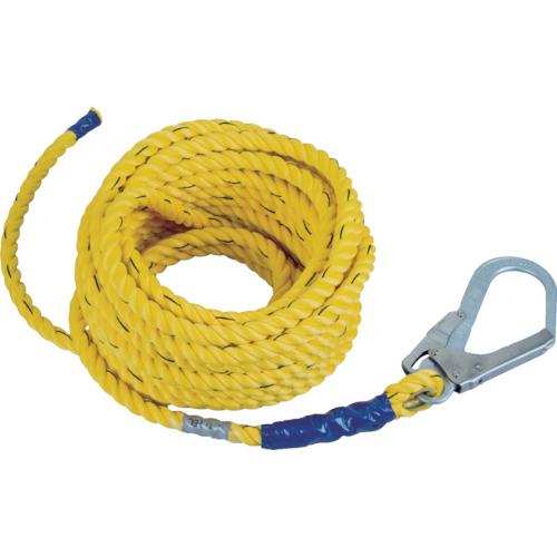 ツヨロン 支柱用親綱ロープ 仮設工業会認定品10M用 HR10TP【送料無料】