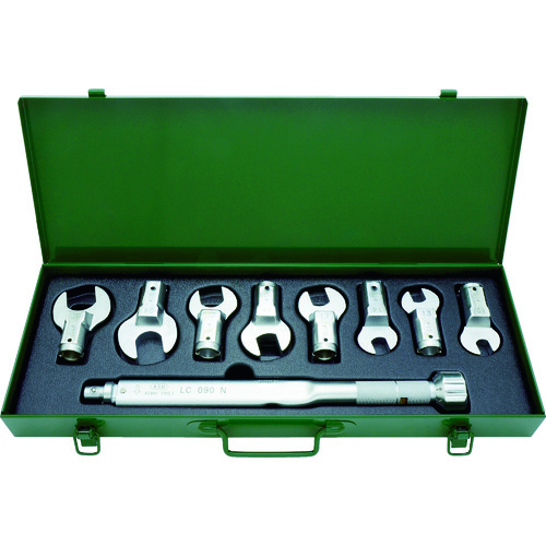 ASH トルクレンチスパナヘッドセットLC090N+12-27mm LCS3000【送料無料】