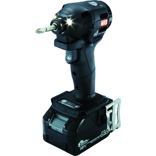 MAX 18V充電インパクトドライバセット(クロ)5.0Ah PJID152KB2C1850A【送料無料】【S1】