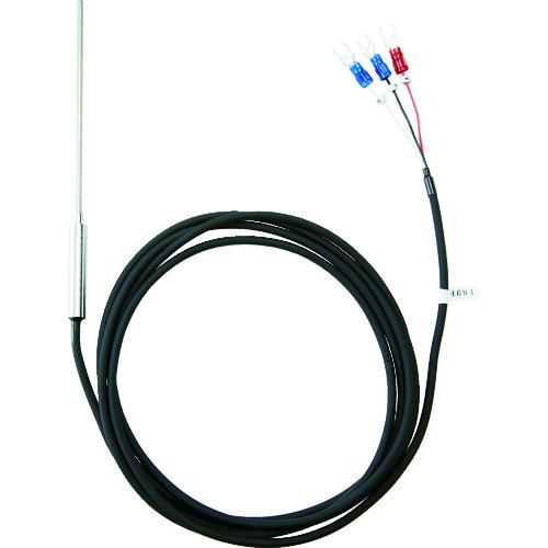 豊富な品 TRUSCO 安売り トラスコ 温度センサー Pt100Ω測温抵抗体 OSPT23100Y 2.3mmX100mm