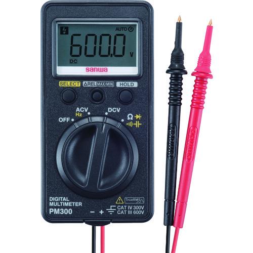 SANWA ポケット型デジタルマルチメータ PM300【送料無料】