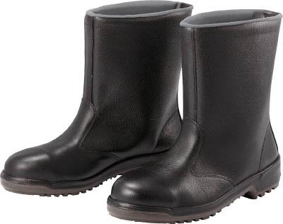 ミドリ安全 安全半長靴 25.0cm MZ040J25.0