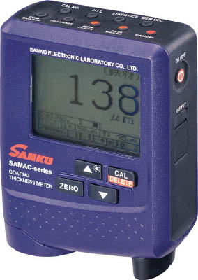 【超歓迎】 SAMAC-PRO SAMACPRO:リコメン堂ホームライフ館 サンコウ プローブ一体型デュアルタイプ膜厚計-DIY・工具