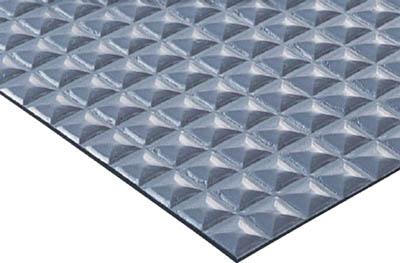 コンドル (床保護シート)ニュービニールシート(ピラミッド) グレー F169P