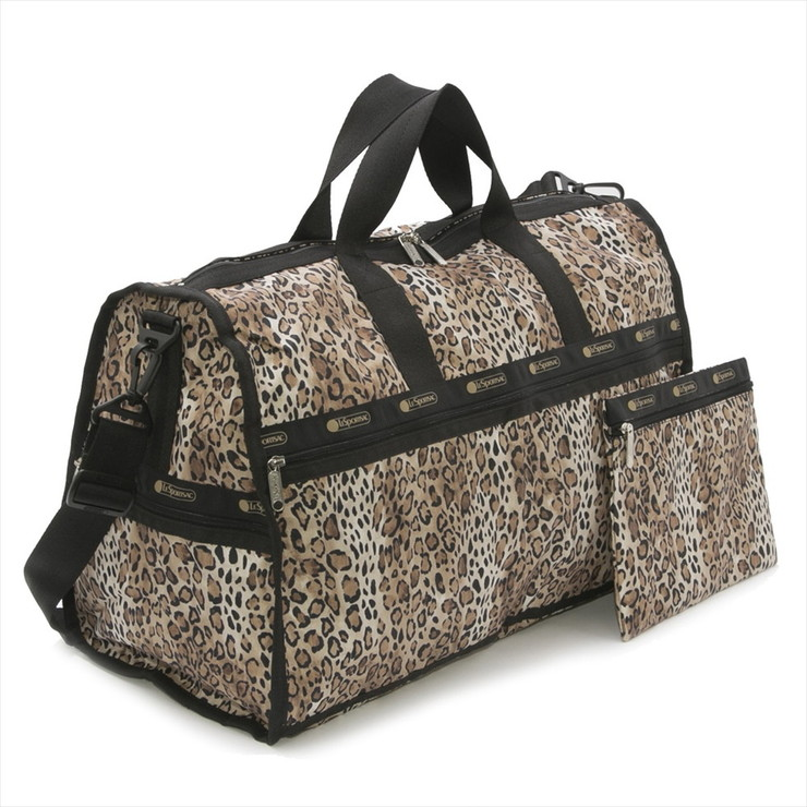 LeSportsac LARGE WEEKENDER OMBRE CHEETAH RADIENT 女性用 バッグ レスポートサック【送料無料】