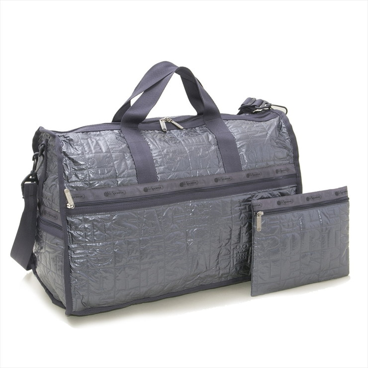 LeSportsac ボストンバッグ LARGE WEEKENDER 7185 レディース STERLING FOIL H042 レスポートサック【送料無料】