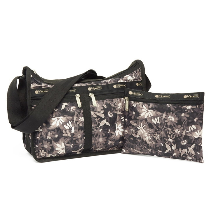 LeSportsac ショルダーバッグ DELUXE EVERYDAY BAG 7507 レディース FACTORY FLORAL E315 レスポートサック【送料無料】