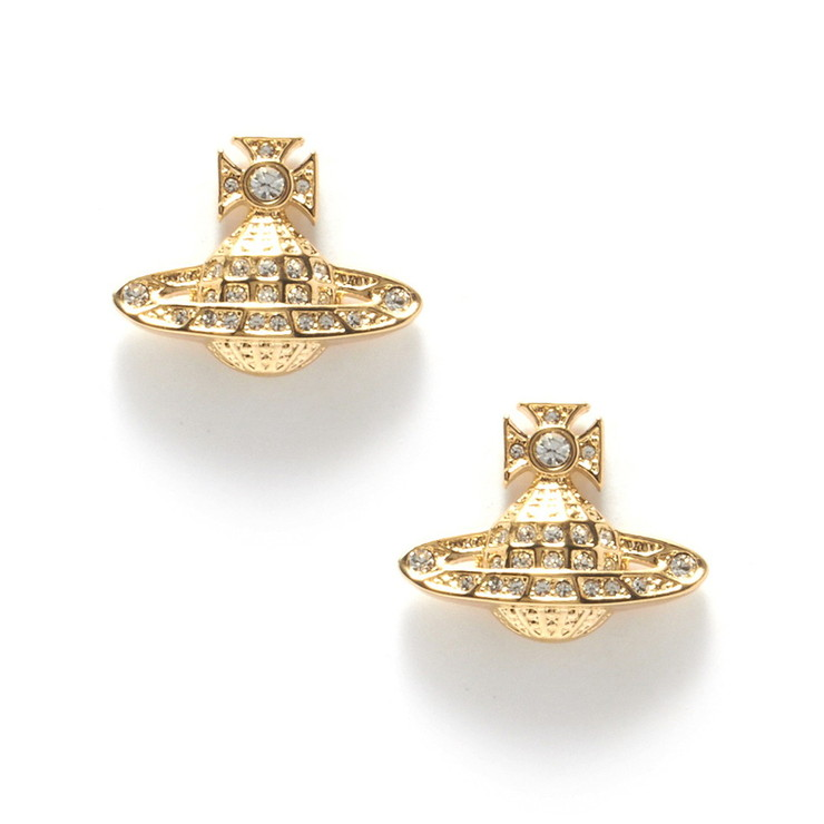 VivienneWestwood ピアス MINNIE BAS RELIEF EARRINGS 725012B-2 レディース GOLD 2GWC ヴィヴィアン・ウエストウッド【送料無料】