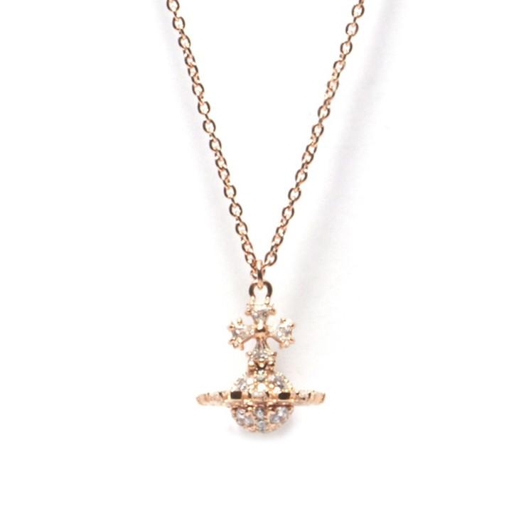 VivienneWestwood ネックレス IRINA SMALL ORB PENDANT BP1531-2 レディース PINK GOLD 2PGW ヴィヴィアン・ウエストウッド【送料無料】