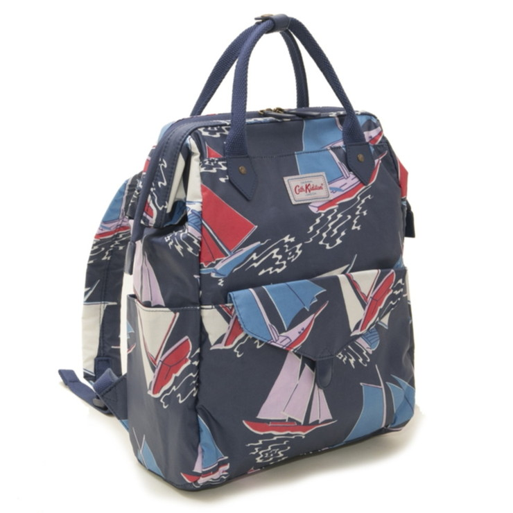 Cath Kidston バックパック Frame Backpack 757010 レディース Navy Whitby Waters ネイビーマルチ キャスキッドソン【送料無料】