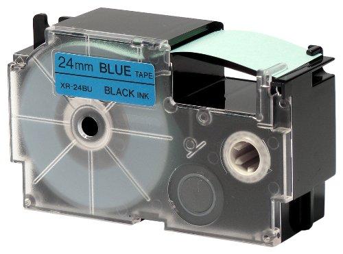 カシオ計算機 ☆国内最安値に挑戦☆ ネームランド用テープカートリッジ 贈り物 XR-24BU