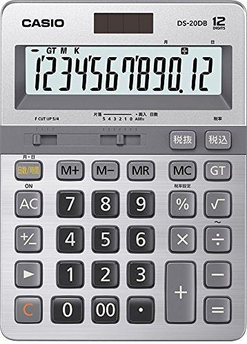 カシオ 本格実務電卓 DS-20DB-N