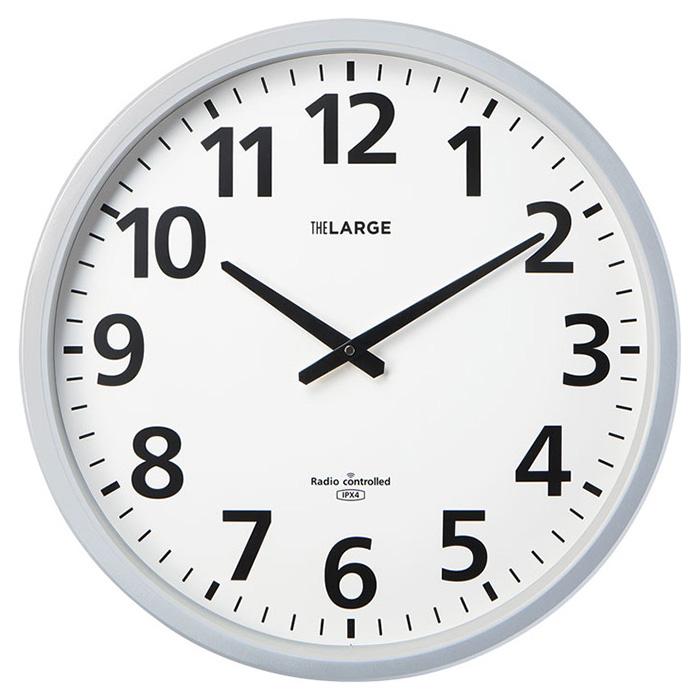 欲しいの キングジム 電波掛時計 ザラ-ジ 省電力・防滴型 GDKB-001 大型 時計 大型 時計 アナログ時計 電波掛時計 学校 リビング, アスリート ステージ:de1db0bf --- mail.gomotex.com.sg