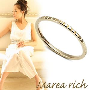 マレア リッチ ≪2012SS新作ライン≫【納期約1ヶ月】 K10 ピンキーリング ゴールド 3号 11KJ-33