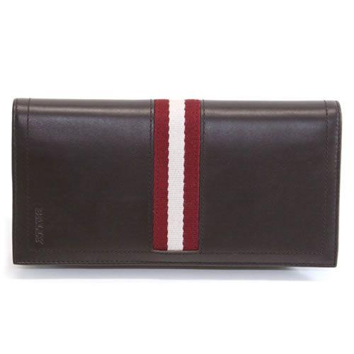 バリー TALIRO 271 CHOCOLATE ファスナー小銭入れ付 二つ折り長財布 カーフ【送料無料】