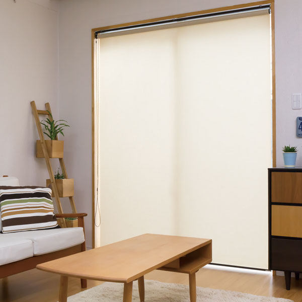 洗える 日本製 ロールスクリーン オーダー 和洋モダン カスミ ウォッシャブル 立川機工(タチカワ) 幅61~90cm 高さ181~200cm(代引不可)【送料無料】