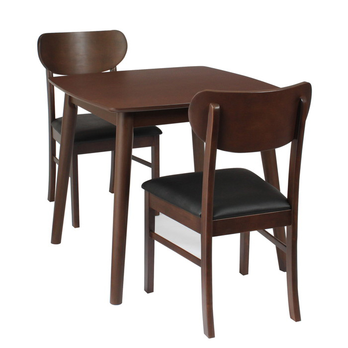 ダイニングテーブル 3点セット ダイニングセット 3点 ダイニング テーブル チェア チェアー 北欧 天然木 (シープ)(代引不可)【送料無料】【S1】