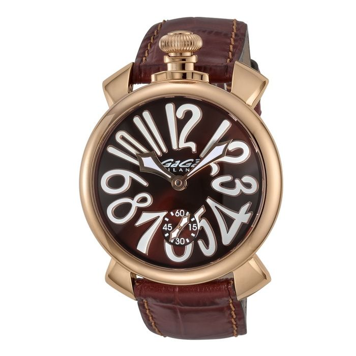 GaGaMILAN ガガミラノ 5011.01S-BRW-NEW ブランド 時計 腕時計 メンズ 誕生日 プレゼント ギフト カップル()【送料無料】