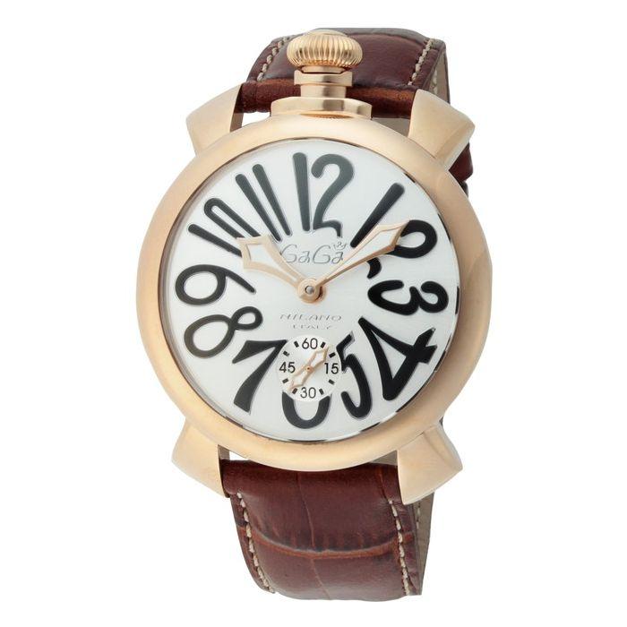 GaGaMILAN ガガミラノ 5011.06S-BRW ブランド 時計 腕時計 メンズ 誕生日 プレゼント ギフト カップル()【送料無料】