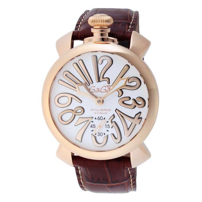 GaGaMILAN ガガミラノ 5011.08S-BRW ブランド 時計 腕時計 メンズ 誕生日 プレゼント ギフト カップル()【送料無料】