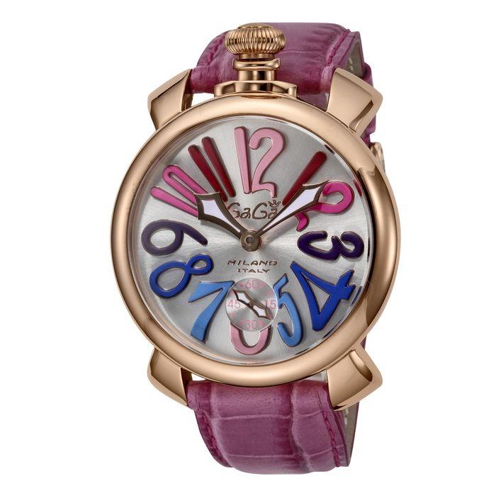 GaGaMILAN ガガミラノ 5011.09-PUR ブランド 時計 腕時計 メンズ 誕生日 プレゼント ギフト カップル()【送料無料】