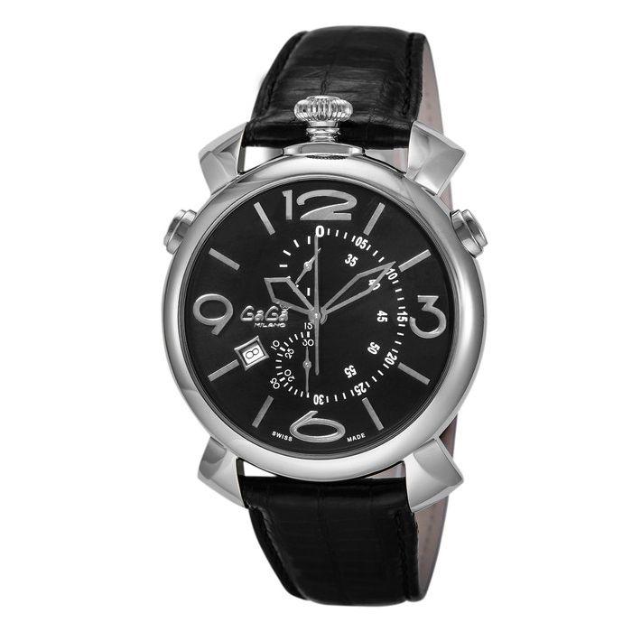 GaGaMILAN ガガミラノ 5097.01BK-N ブランド 時計 腕時計 メンズ 誕生日 プレゼント ギフト カップル()【送料無料】