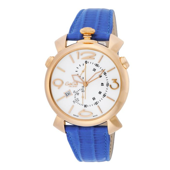 GaGaMILAN ガガミラノ 5098.01BT ブランド 時計 腕時計 メンズ 誕生日 プレゼント ギフト カップル()【送料無料】