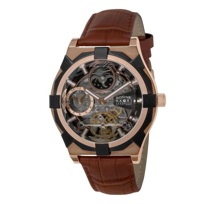 SONNE ゾンネ H019PG BR ブランド 時計 腕時計 メンズ 誕生日 プレゼント ギフト カップル送料無料MVUGLqSpz