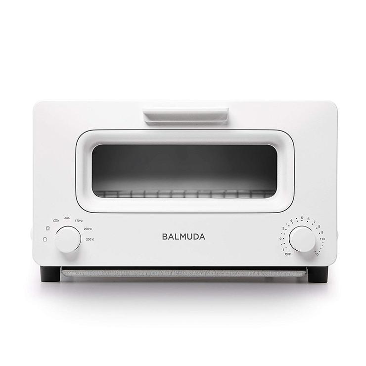 バルミューダ ザ トースター 1300W K01E-WS BALMUDA The Toester ホワイト トースター オーブントースター スチーム【送料無料】