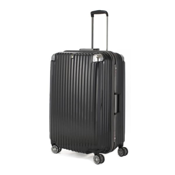 TRAVELIST キャリーケース ストリーク フレーム 100L 目安10日間前後 キャリーバッグ キャリー ケース スーツケース(代引不可)【送料無料】