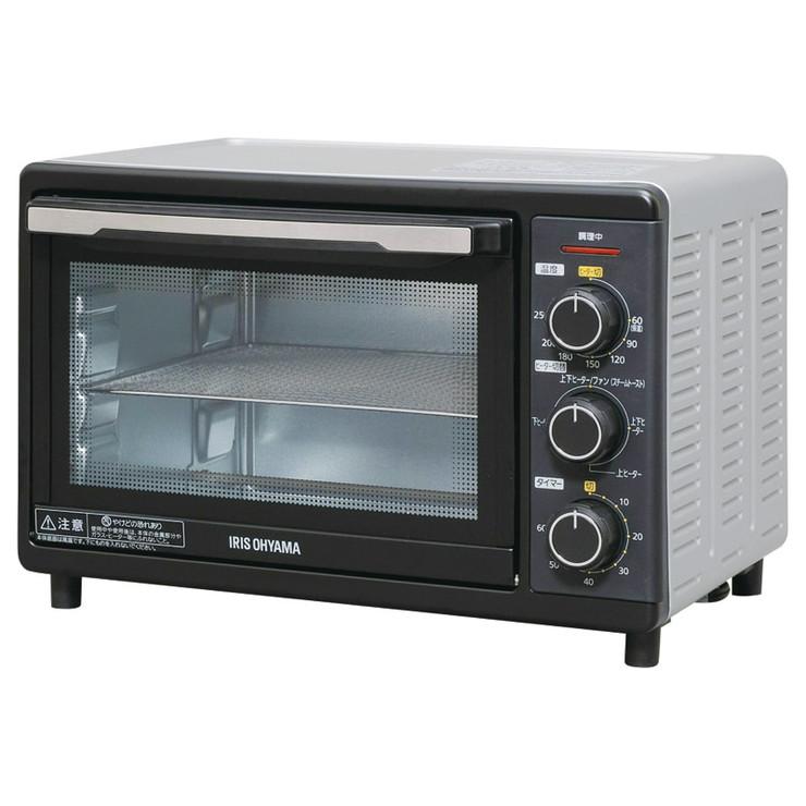 送料無料 ファッション通販 返品交換不可 アイリスオーヤマ コンベクションオーブン FVC-D15B-S