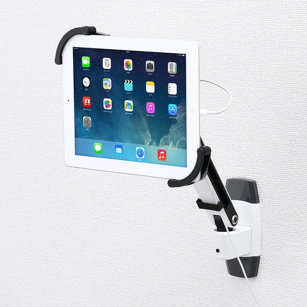 サンワサプライ 7~11インチ対応iPad・タブレット用アーム(壁面用) CR-LATAB10【送料無料】 (代引不可)