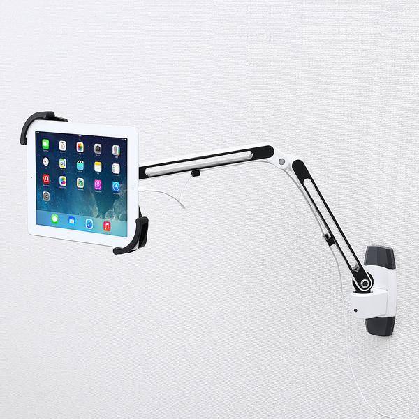 サンワサプライ 7~11インチ対応iPad・タブレット用アーム(壁面用) CR-LATAB11【送料無料】 (代引不可)