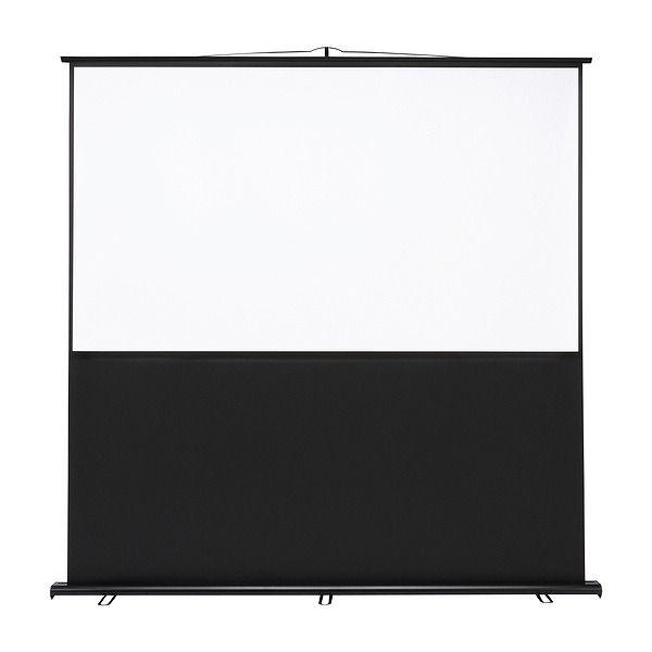 サンワサプライ プロジェクタースクリーン(床置き式) PRS-Y90HD(代引不可)【送料無料】