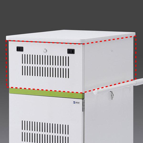 サンワサプライ タブレット収納保管庫用追加収納ボックス(22台収納タイプ用) CAI-CABBOX22【送料無料】 (代引不可)