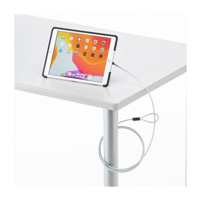 サンワサプライ 第7世代iPad10.2インチ/iPad Air 2019対応セキュリティ(ブラック) SL-85IP102BK(代引不可)【送料無料】