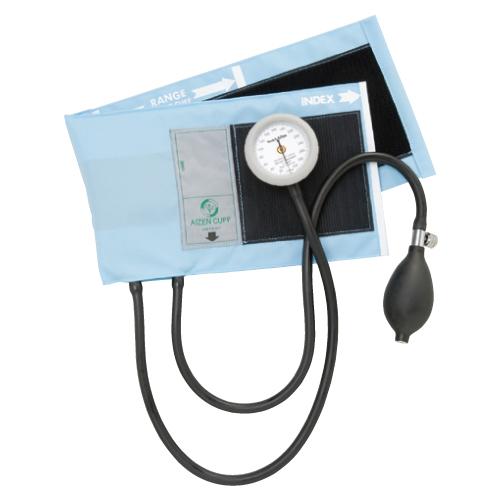 アイゼンコーポレーション ギヤフリーアネロイド血圧計 カラー:スカイブルー GF700-05【送料無料】