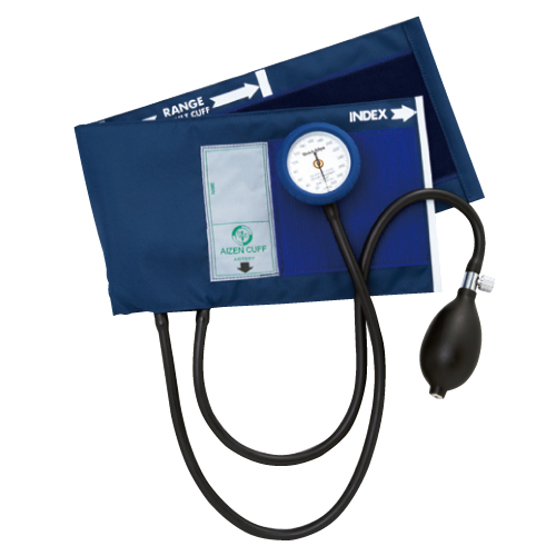 アイゼンコーポレーション ギヤフリーアネロイド血圧計 カラー:ロイヤルブルー GF700-07【送料無料】